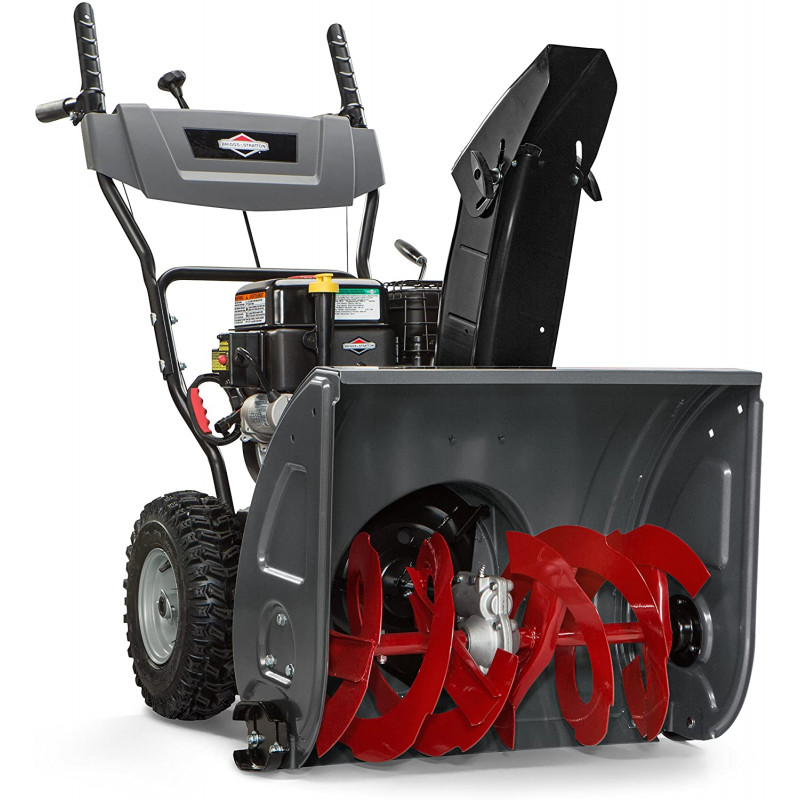 Briggs & Stratton 24 in. Steerable 2-Stage Gas Snow Blower with Electric Start