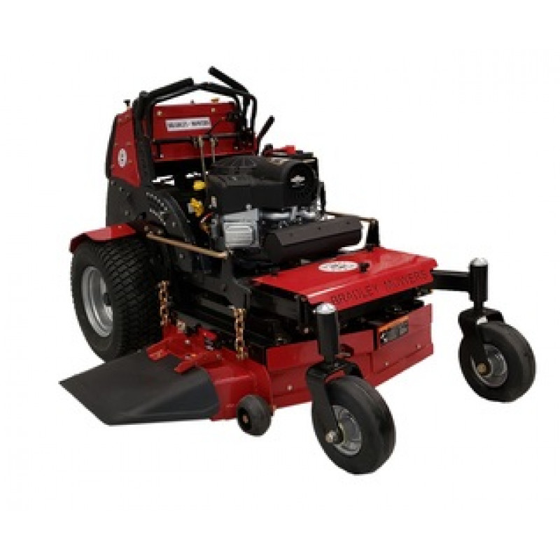 """Bradley 36"""" Commercial Turf Stand On Mower 25 HP Briggs"""