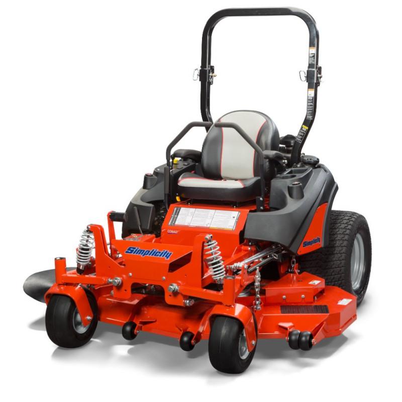 "Simplicity 5901492 Zero Turn Lawn Mower 61"" Deck 28hp Vanguard V-Twin"