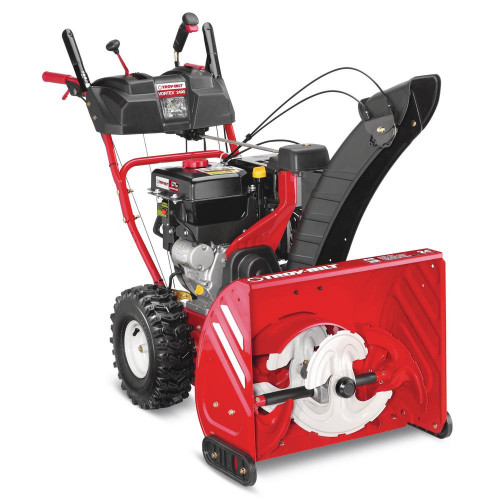 Troy-Bilt Vortex 24 in. 277cc Three-Stage Electric Start Gas Snow Blower with Power Steering and Heated grips