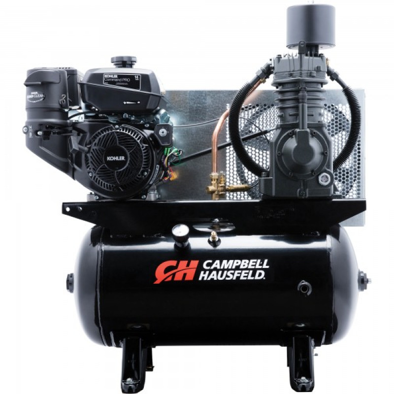 Campbell Hausfeld Service Truck Series Air Compressor — 13 HP Kohler Command Engine, 24.3 CFM @ 175 PSI, Model# CE7002