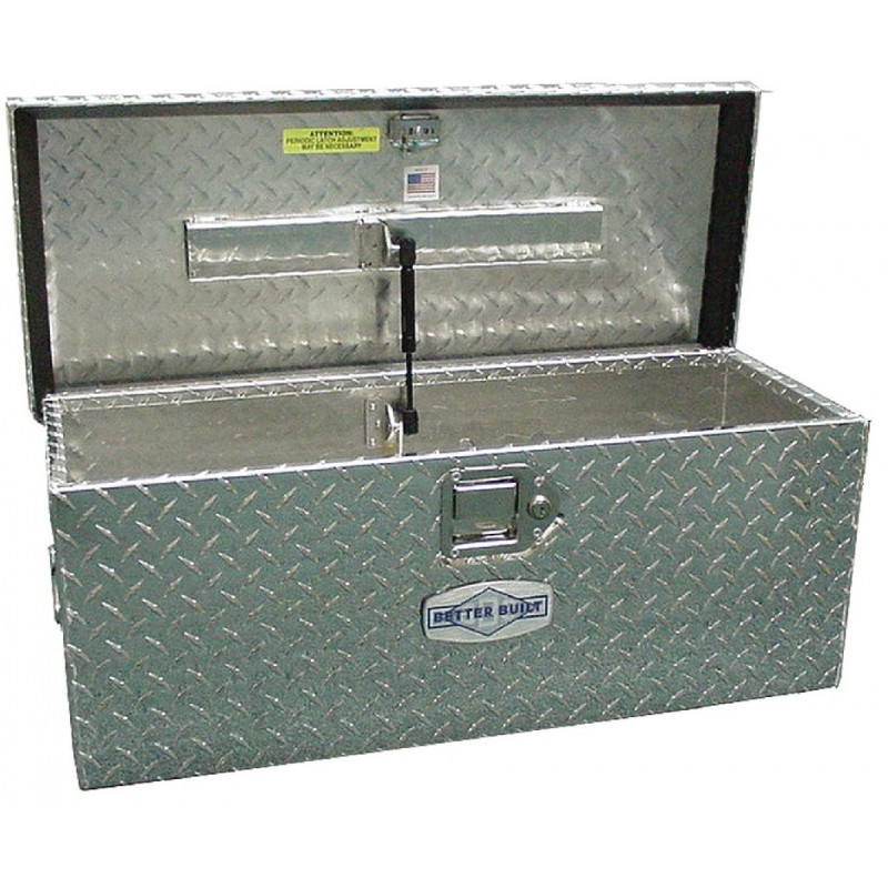 Better Built Crown Series 30-in Silver Aluminum Lockable Tool Box