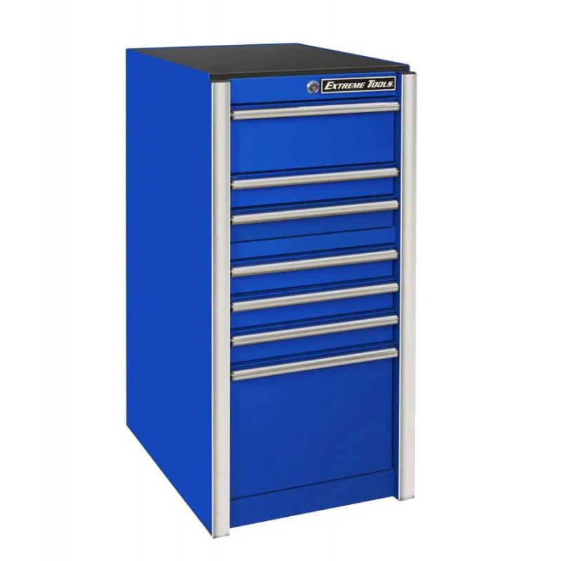 Extreme Tools 19 In. 7-Drawer Side Box, Blue