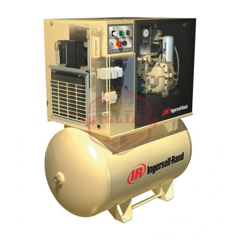 Ingersoll Rand Rotary Screw Compressor w/Total Air System - 460 Volts, 3-Phase, 10 HP, 38 CFM