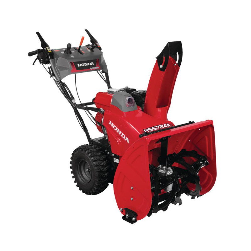 Honda 24 in. Hydrostatic Wheel Drive 2-Stage Snow Blower with Electric Joystick Chute Control