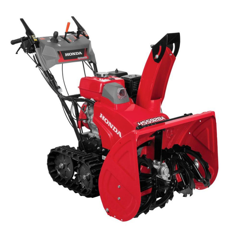 Honda 28 in. Hydrostatic Track Drive 2-Stage Gas Snow Blower with Electric Joystick Chute Control