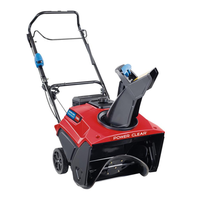 Toro Power Clear 821 QZE 21 in. 252 cc Single-Stage Self Propelled Gas Snow Blower with Electric Start