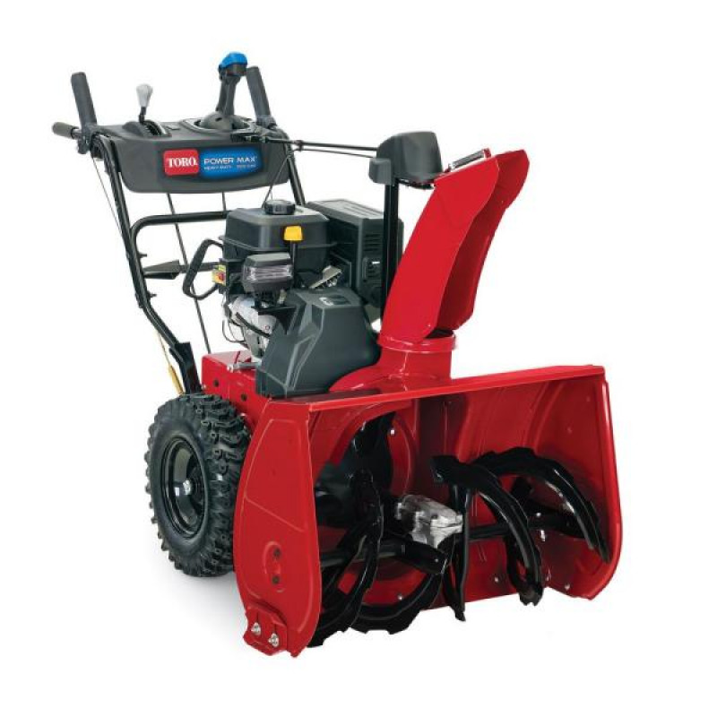 Toro Power Max HD 828 OAE 28 in. 252 cc Two-Stage Gas Snow Blower with Electric Start, Triggerless Steering and Headlight