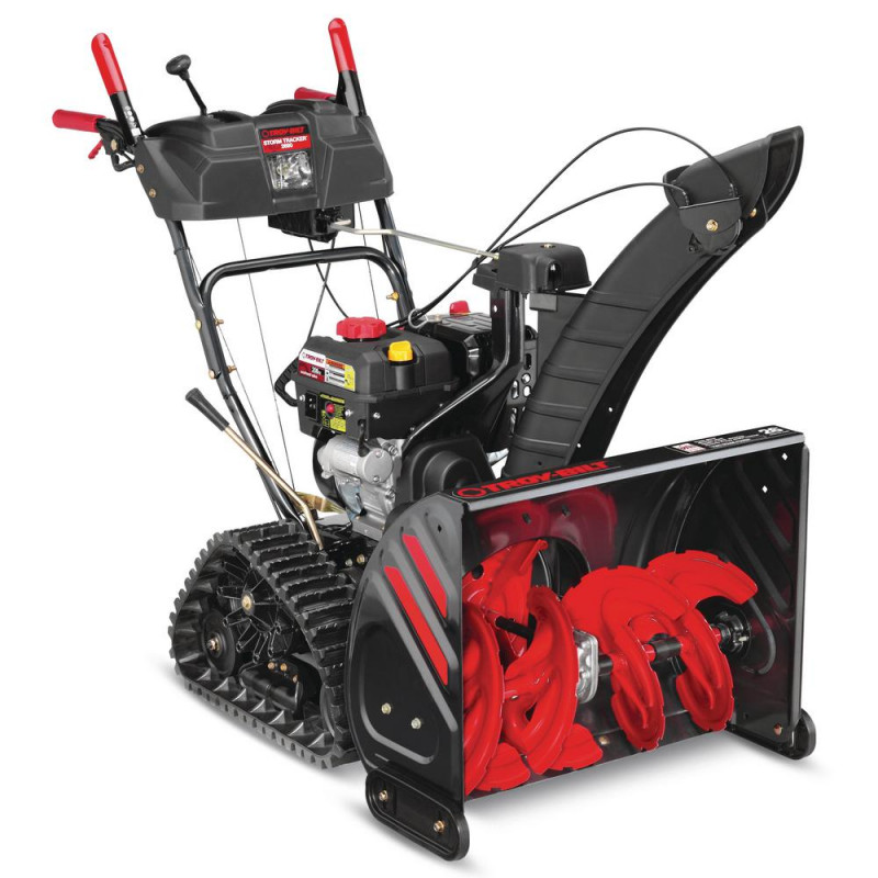 Troy-Bilt 26 in. 208 cc Two-Stage Gas Snow Blower with Electric Start and Track Drive and Electronic 4-Way Chute Control