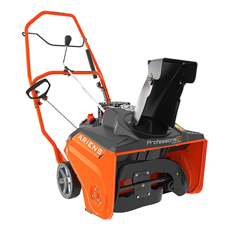 Ariens Commercial Single Stage 21-in 208-cc Single-Stage with Auger Assistance Gas Snow Blower with Pull Start