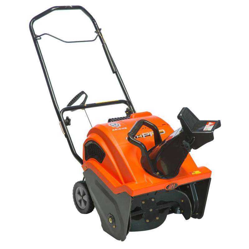 Ariens Path-Pro 21-in 208-cc Single-Stage with Auger Assistance Gas Snow Blower with Push-Button Electric Start