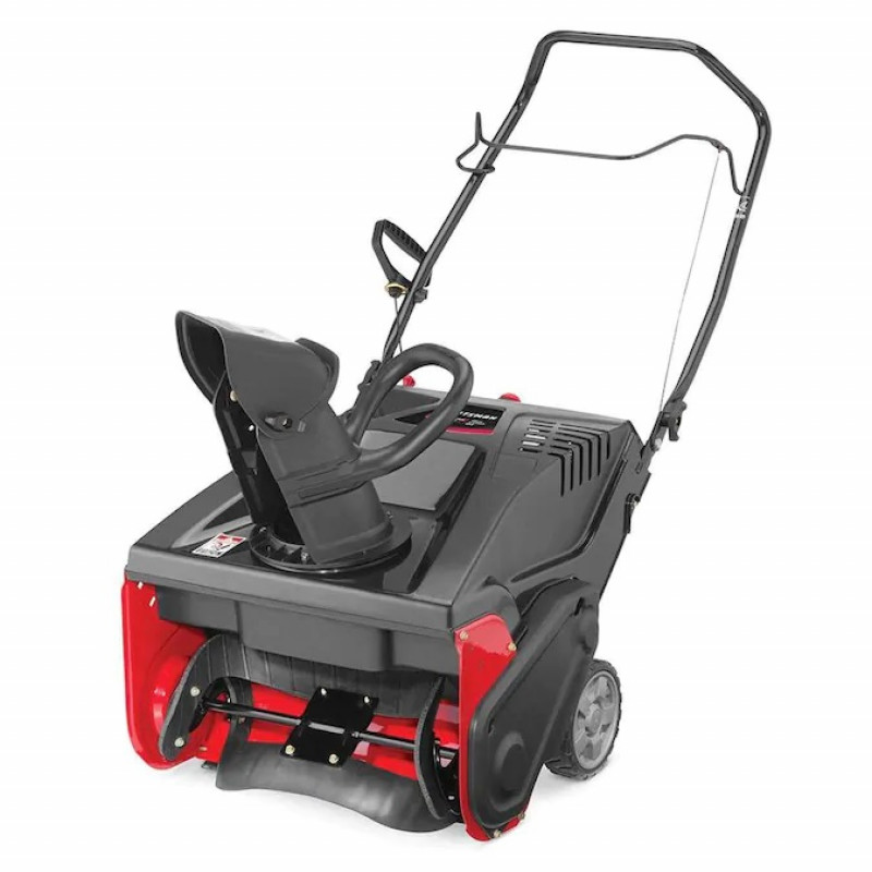 CRAFTSMAN SB230 21-in 123-cc Single-Stage with Auger Assistance Gas Snow Blower with Push-Button Electric Start