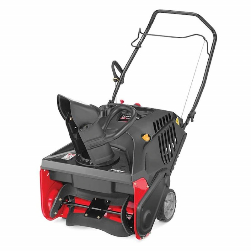 CRAFTSMAN SB270 21-in 208-cc Single-Stage with Auger Assistance Gas Snow Blower with Push-Button Electric Start