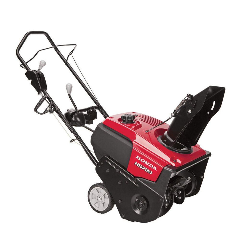 Honda HS720 20-in 187-cc Single-Stage Gas Snow Blower with Pull Start