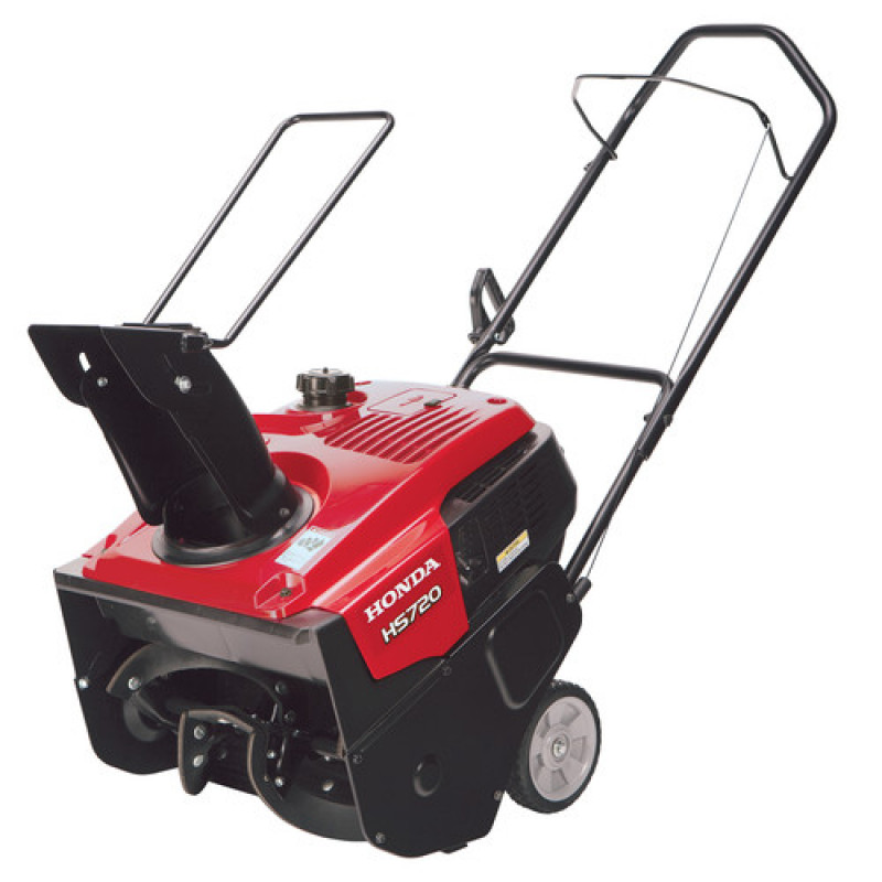 Honda HS720 20-in 187-cc Single-Stage with Auger Assistance Gas Snow Blower with Pull Start