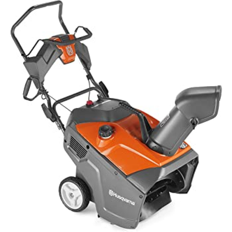 Husqvarna ST 131 21-in 208-cc Single-Stage with Auger Assistance Gas Snow Blower with Push-Button Electric Start