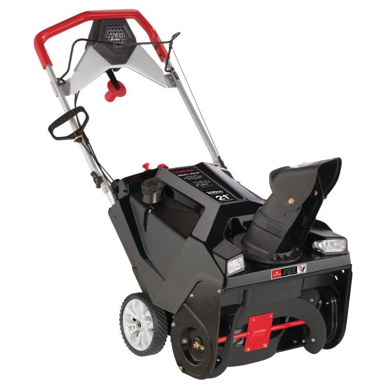 Troy-Bilt Squall XP 21 in. 208 CC Electric Start Single-Stage Gas Snow Thrower with Dual-LED Headlights Remote Chute Control