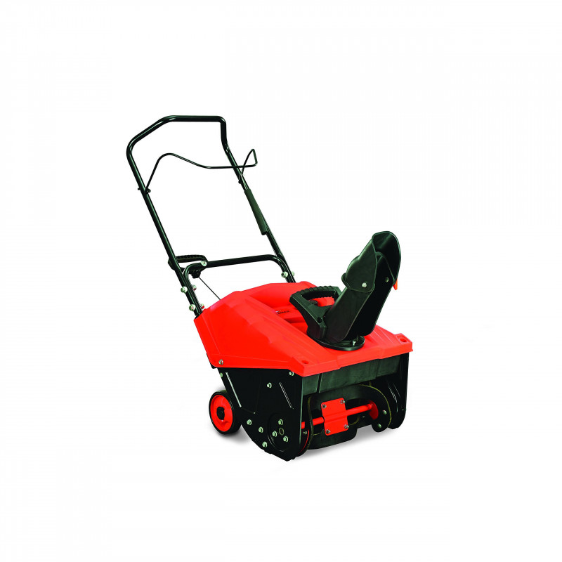 YARDMAX Yb4628 18-in 87-cc Single-Stage Gas Snow Blower with Pull Start