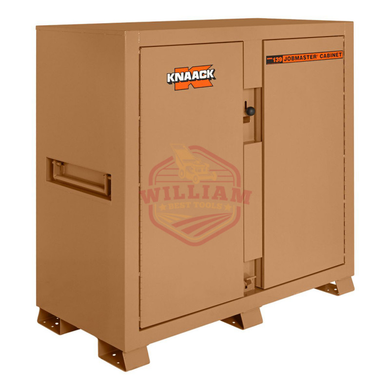 KNAACK 60-in W x 60-in H Steel Rolling Tool Cabinet (Bronze)
