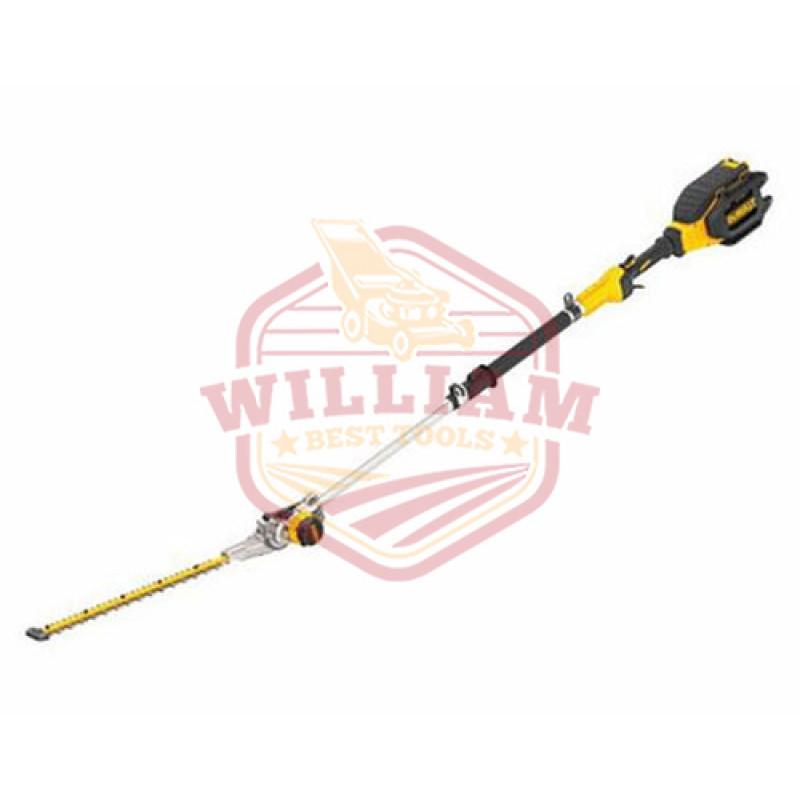 """DeWalt 40V DCHT895X1 45"""" - 70"""" Battery Powered Pole Hedge Trimmer (7.5 Ah)"""