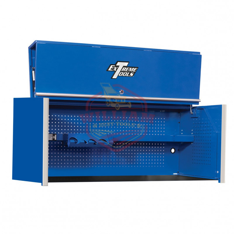 Extreme Tools RX Pro 55-in Workstation Hutch- Blue