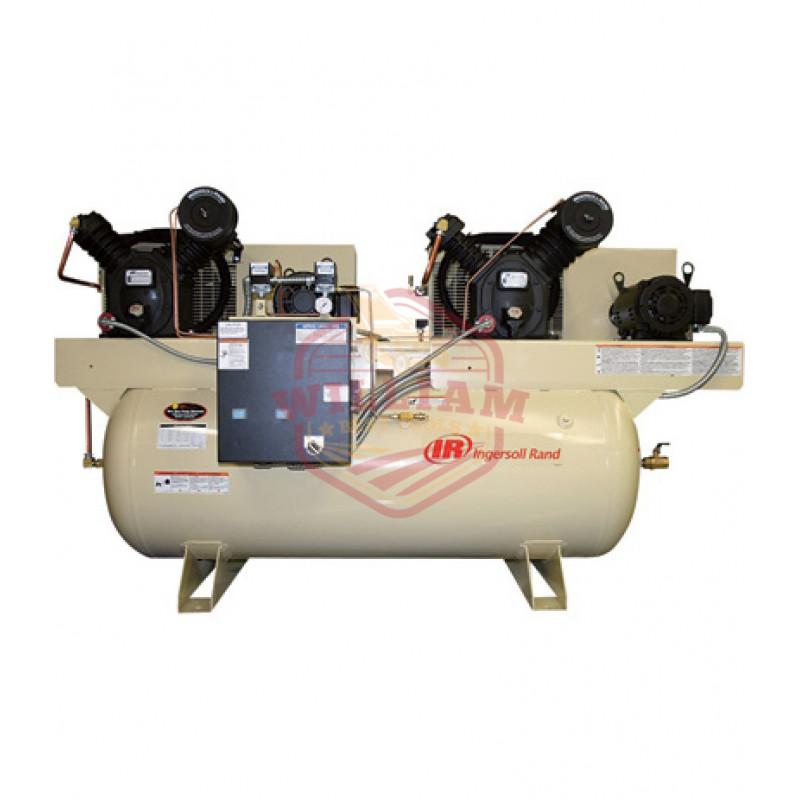 Ingersoll Rand Air Compressor - Duplex, 10 HP, 230 Volt 3 Phase