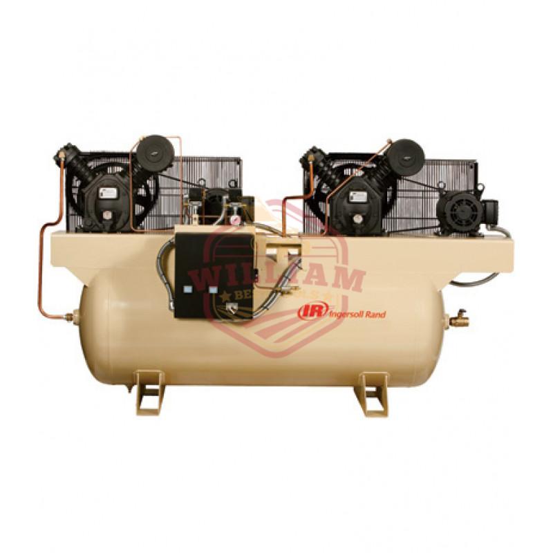 Ingersoll Rand Air Compressor - Duplex, 5 HP, 230 Volt 3 Phase