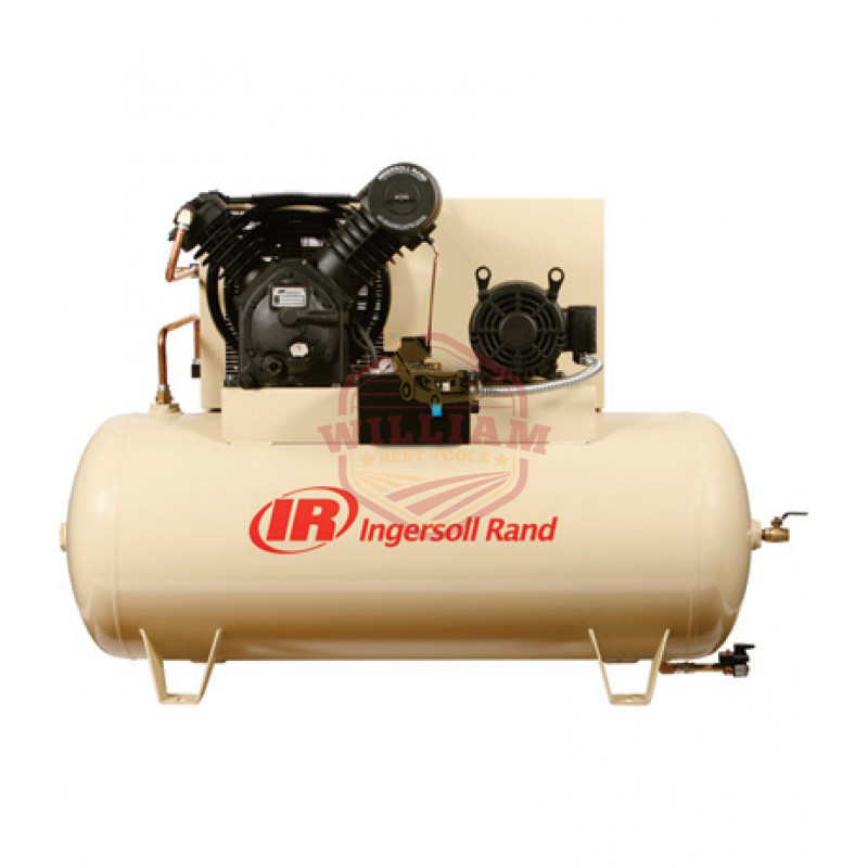 Ingersoll Rand Type-30 Reciprocating Air Compressor (Fully Packaged) - 10 HP, 200 Volt, 3 Phase