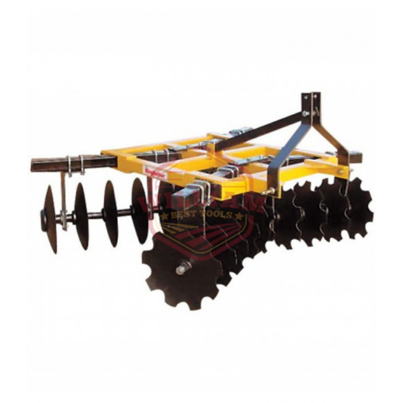 King Kutter Box Frame Disc Harrow - 6 1/2-Ft Combination 18-20-CBF