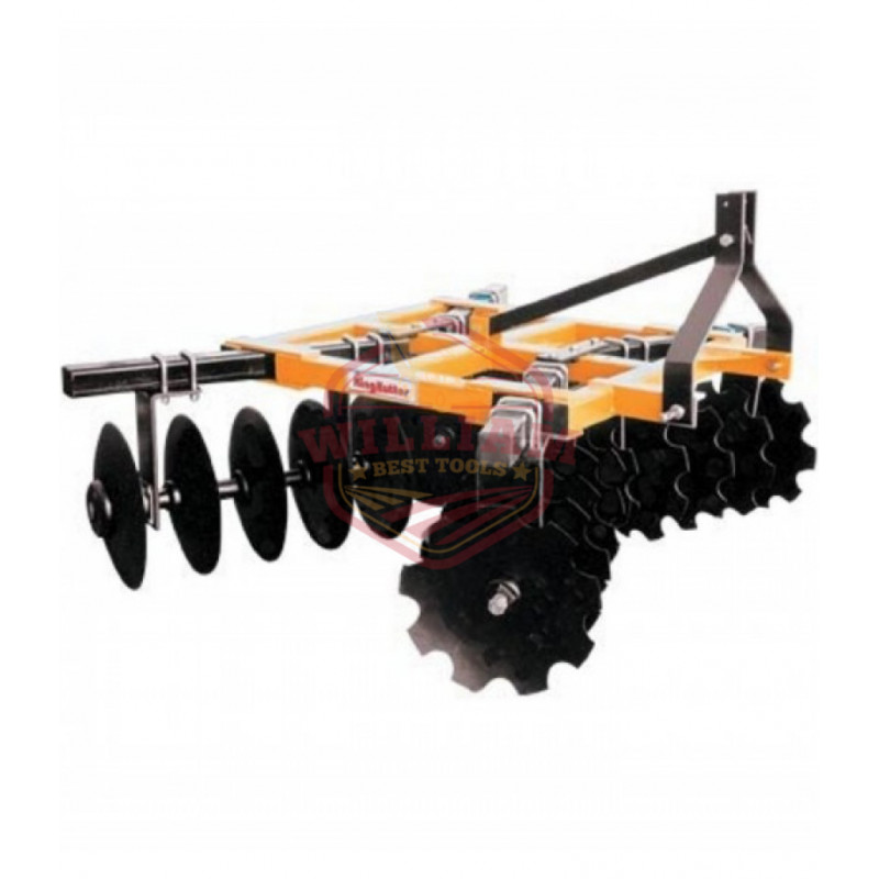 King Kutter Box Frame Disc Harrow - 7 1/2-Ft Combination 18-24-CBF