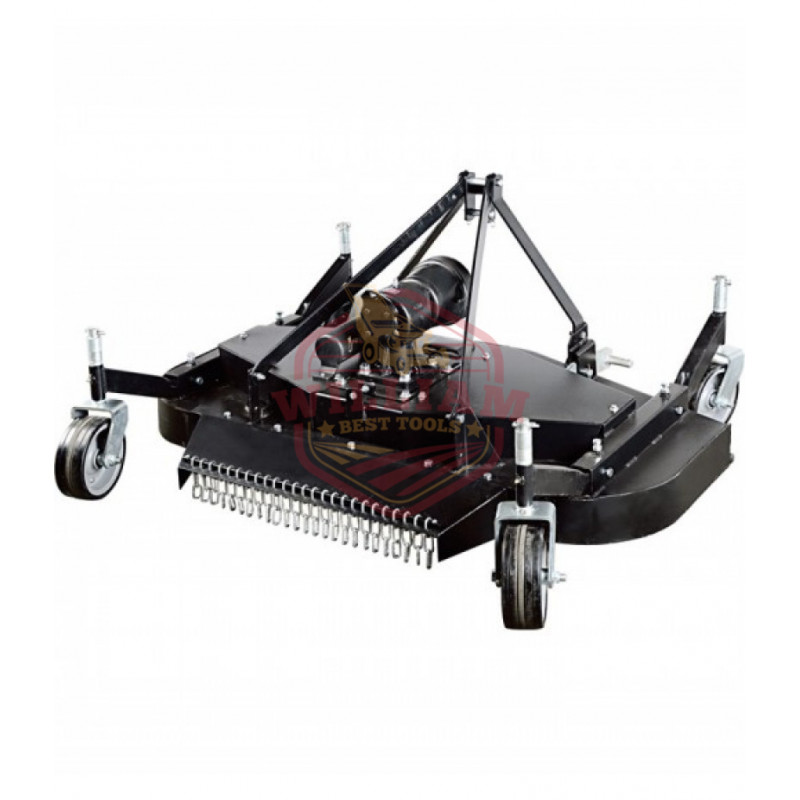 NorTrac 3-Pt. PTO Finish Mower - 72in. Cutting Width