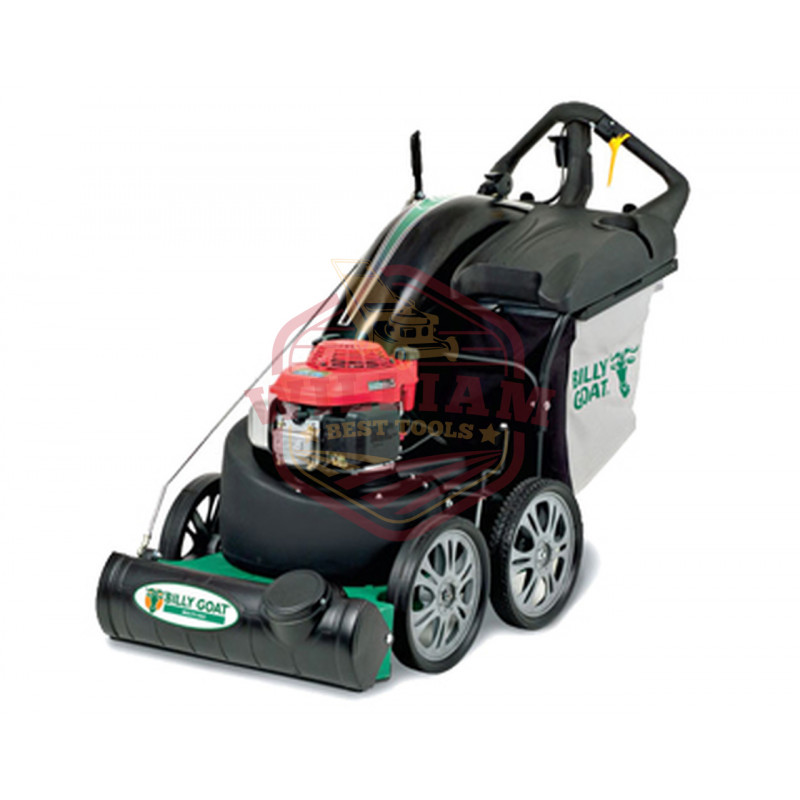 Billy Goat QV550H 160cc (Honda) Industrial Push Leaf & Litter Vacuum (Quiet Vac)