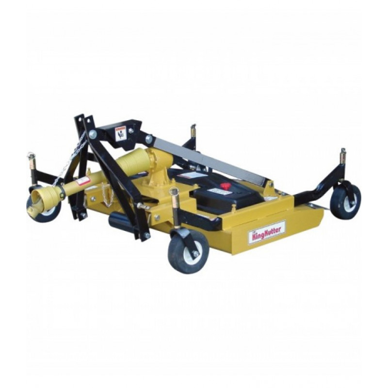King Kutter Rear Discharge Finish Mower - 72in. W/ Double V-Belt, Model# RSFM-72