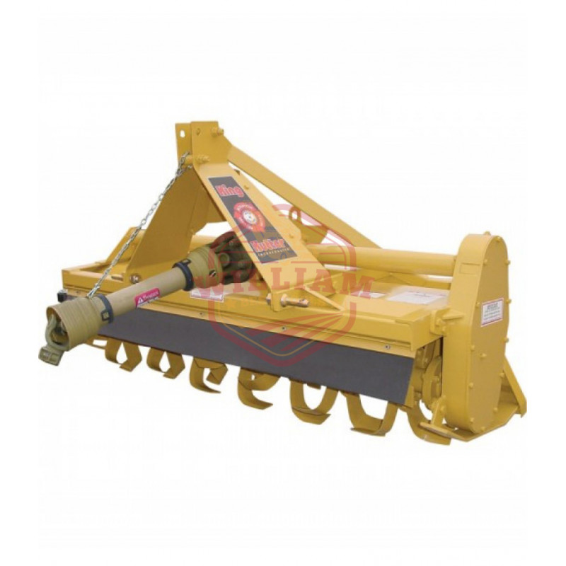 King Kutter Gear-Driven Reverse Tine Rotary Tiller - 60in.W, Model# RTG-60