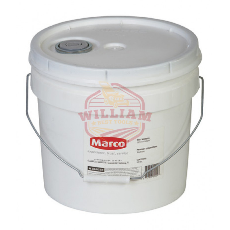 Marco #90 Aluminum Oxide Abrasive Blast Media -50 Lbs