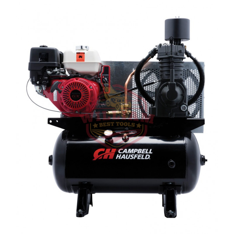 Campbell Hausfeld Service Truck Series Air Compressor - 13 HP Honda GX390 Engine, 25.1 CFM 175 PSI
