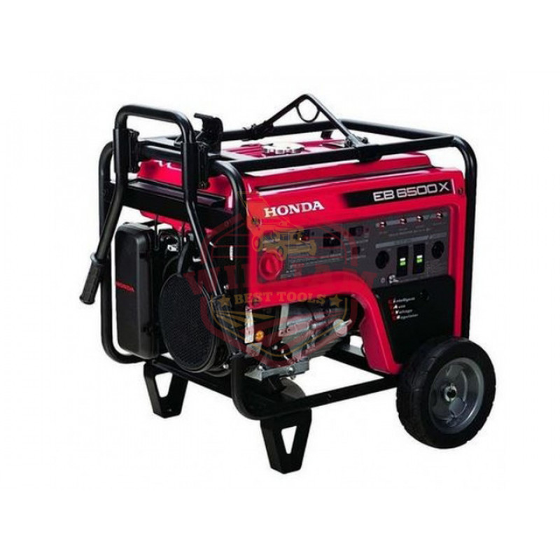Honda EB6500 - 5500 Watt Portable Industrial Generator w/ GFCI Protection (CARB)