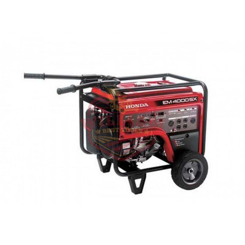 Honda EM4000 - 3500 Watt Electric Start Portable Generator (CARB)
