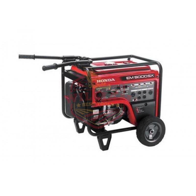 Honda EM5000 - 4500 Watt Electric Start Portable Generator (CARB)