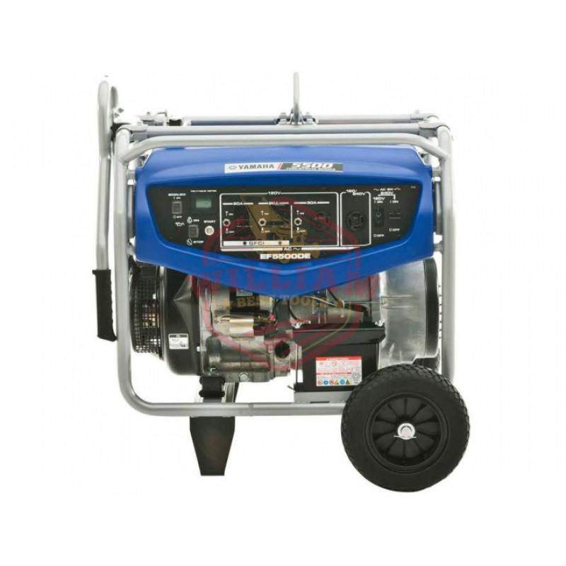 Yamaha EF5500DE 358cc 5,500-Watt 120/240-Volt Dual Voltage Electric Start Generator