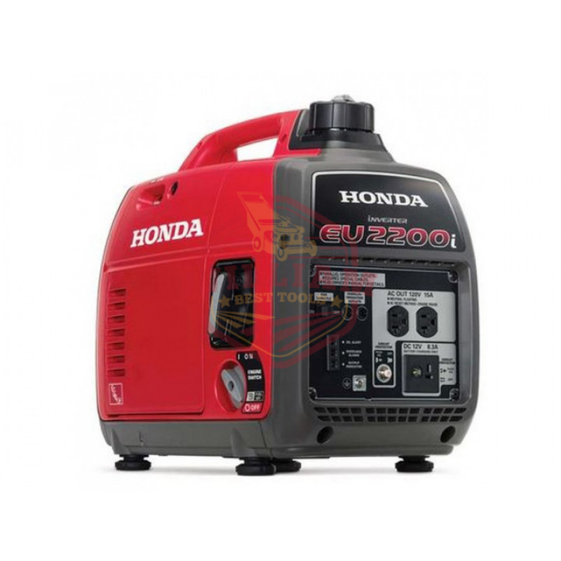 Honda EB2200i - 1800 Watt Portable Industrial Inverter Generator w/ GFCI Protection (CARB)
