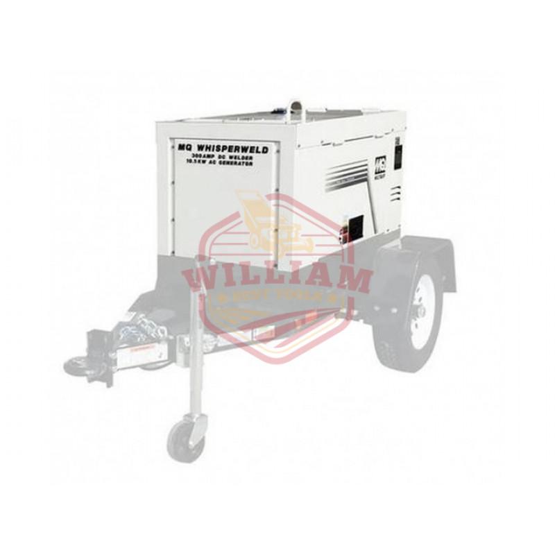 Multiquip DLW300ESA1 59 dBA 300 Amp 10.5 kW Diesel Engine Welder/Generator