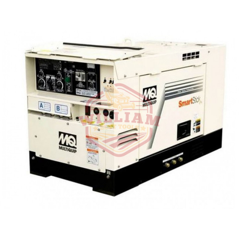 Multiquip SDW225SSA1 225-Amp 6 kW 28-Volt CC/CV Output Diesel Welder/Generator