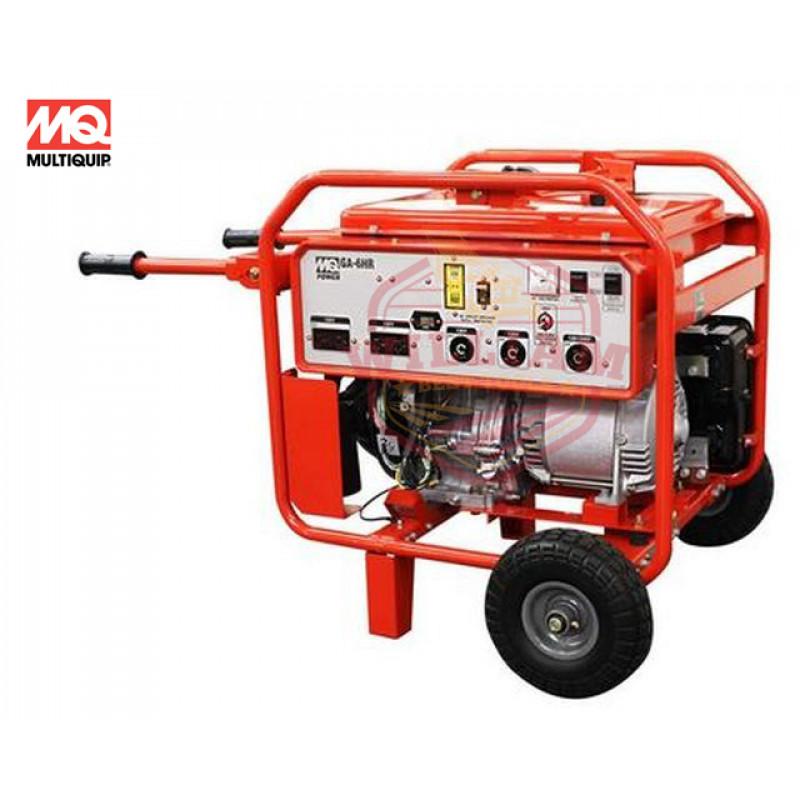 Multiquip GA6HR - 5000 Watt Professional Portable Generator w/ Honda GX Engine