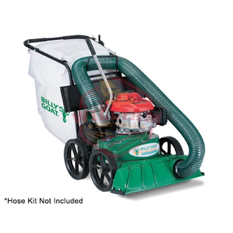 Billy Goat TKV650SPH 187cc (Honda) Multi-Surface Self-Propelled Leaf Vacuum (w/ Chipper)