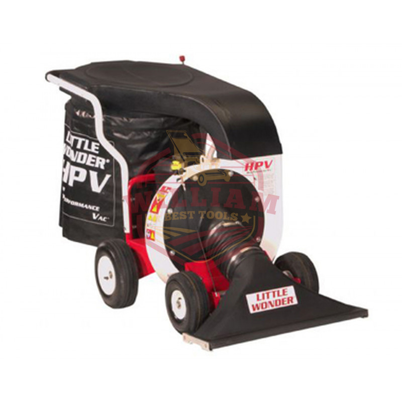 Little Wonder Pro Vac 6.5 HP High Performance Debris Lawn Vacuum