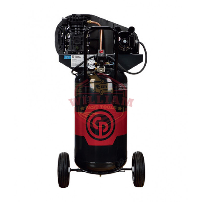 Chicago Pneumatic Portable Electric Air Compressor - 2 HP, 26 Gallon Vertical, 7.0 CFM