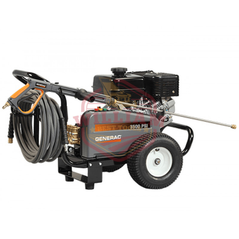 Generac 3500 PSI (3.7 GPM) Belt Drive Pressure Washer