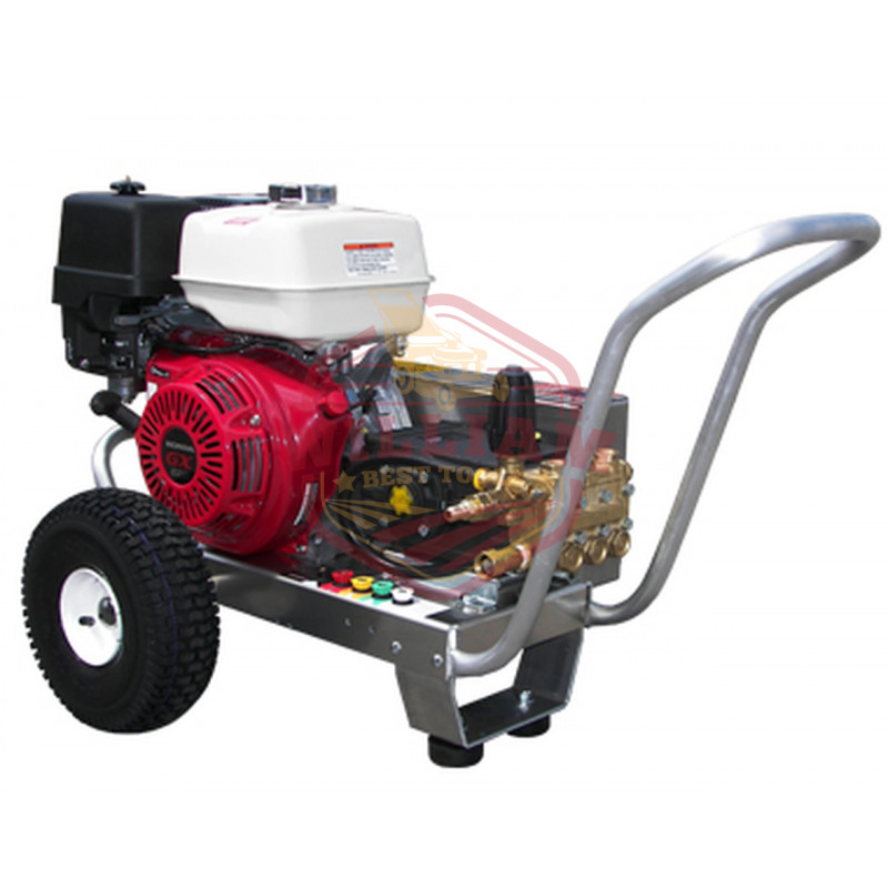 Pressure-Pro EB4040HG 4000 PSI Gas Pressure Washer, HP Pump