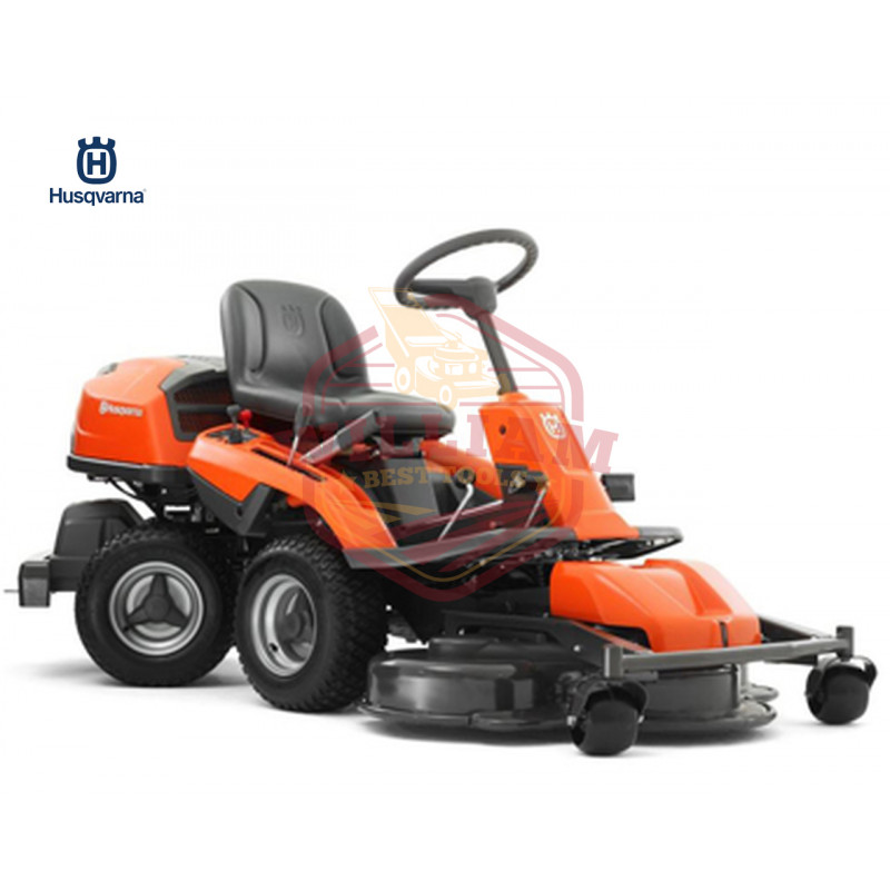 Husqvarna R322T 41 inch AWD Articulated Riding Mower w/ Combi Deck